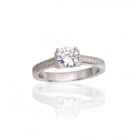 Sidabrinis žiedas...