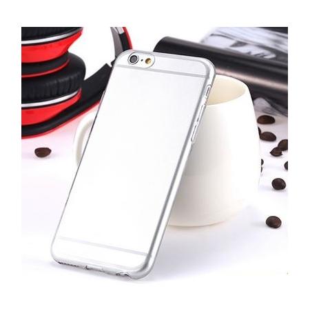 """IPhone 6S  """"Skaidrus pilkas"""" telefono dėklas"""