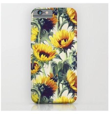 """IPhone 6S  """"Sunflowers"""" telefono dėklas"""