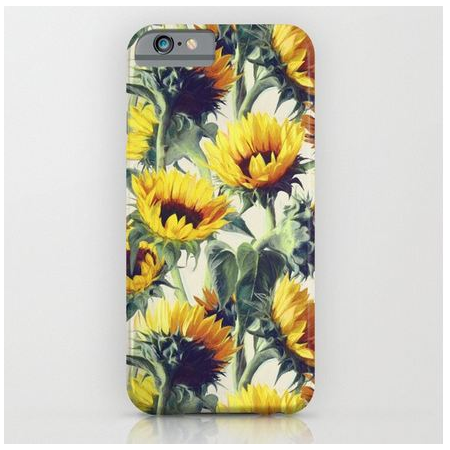 "IPhone 6S  ""Sunflowers"" telefono dėklas"