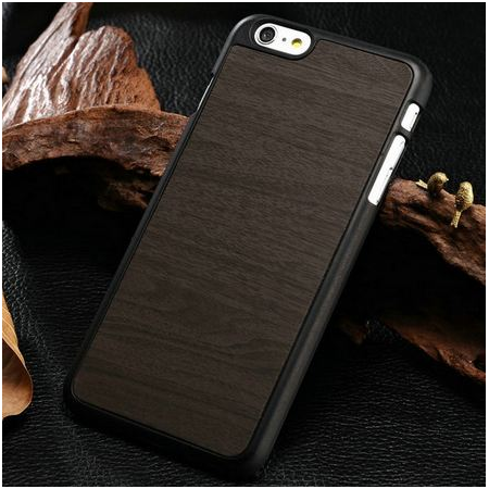 "IPhone 6 Plus ""Dark wooden"" telefono dėklas"