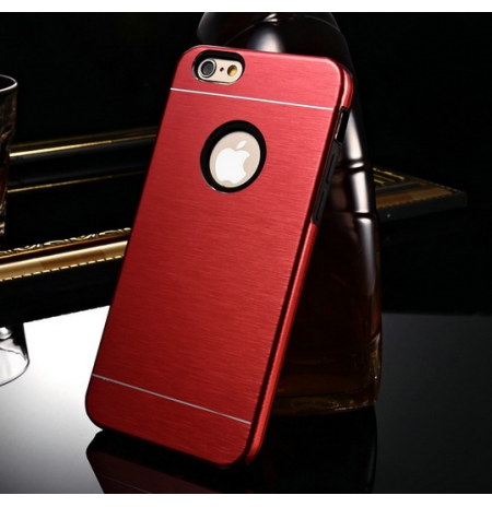 "IPhone 6 ""Red aluminum"" telefono dėklas"