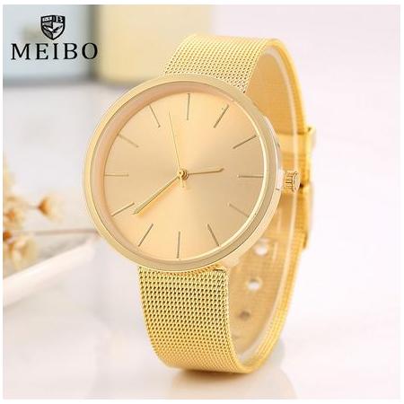 """LAIKRODIS """"MEIBO"""",GOLD"""