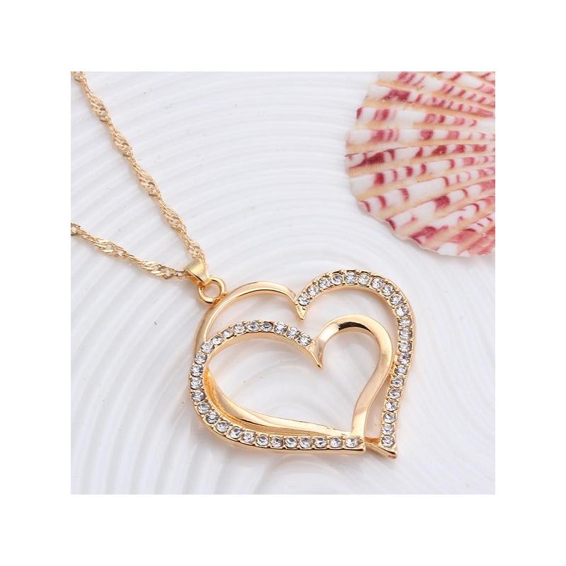"""PAAUKSUOTŲ PAPUOŠALŲ RINKINYS """"HEARTS V"""""""