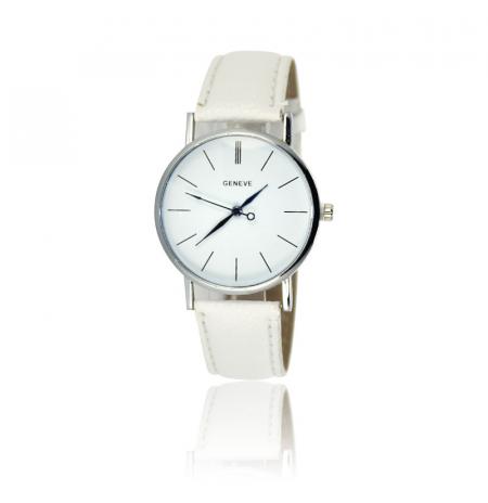 """Laikrodis """"Geneva XX"""", baltas"""