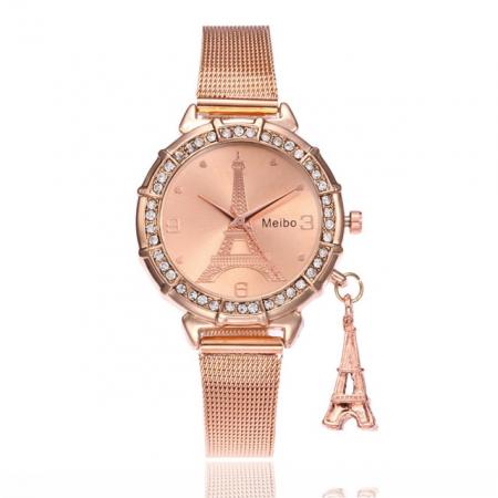 """Laikrodis """"Eifelis"""", auksinė"""