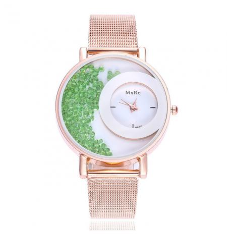 """Laikrodis """"crystal"""", žali..."""