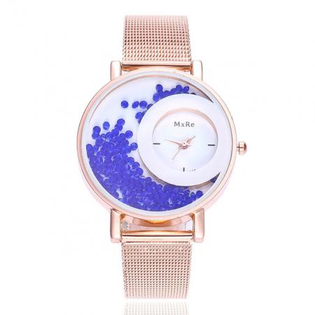 "Laikrodis ""crystal"", mėlyni..."