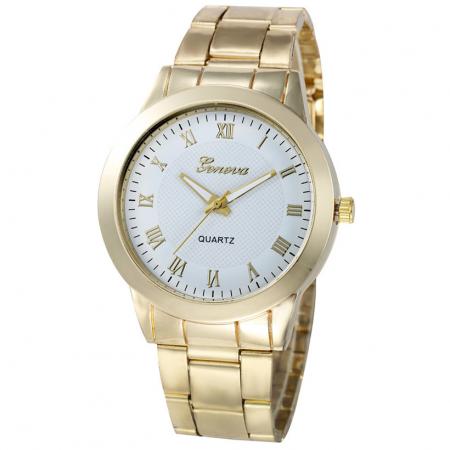 """Laikrodis """"Romantika"""", baltas"""
