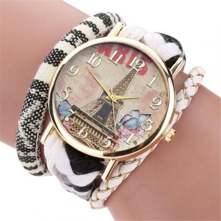 """Laikrodis """"Paryžius"""", baltas"""