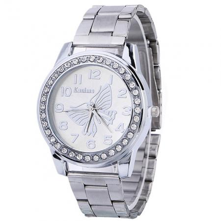"Laikrodis ""Drugelis"", silver"