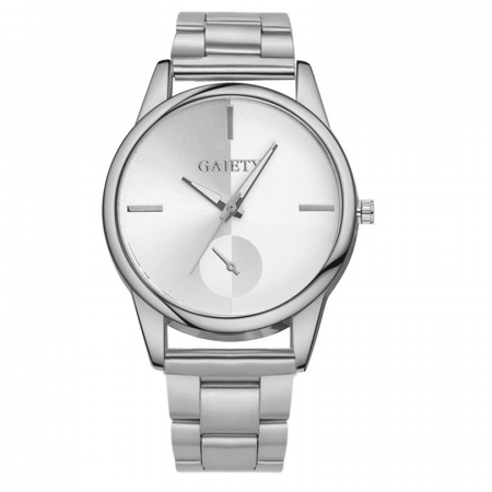 "Laikrodis ""Gaiety"", silver"