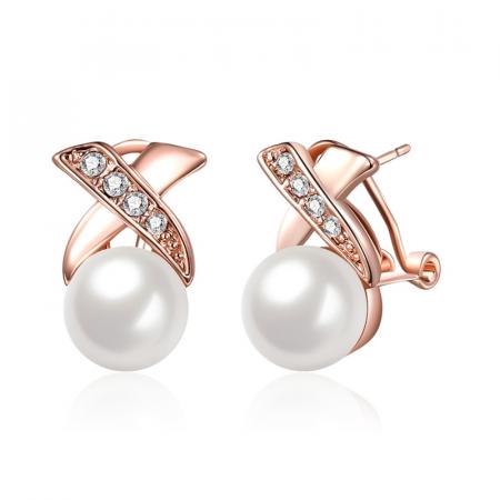 Auskarai su perlais...