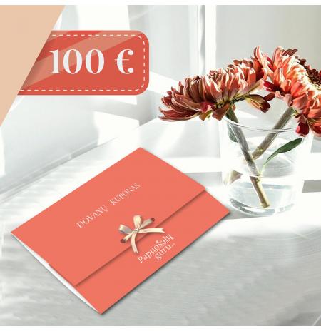 100 EURŲ DOVANŲ KUPONAS