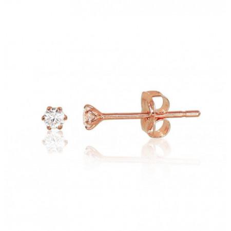 Auksiniai auskarai –pusetai...